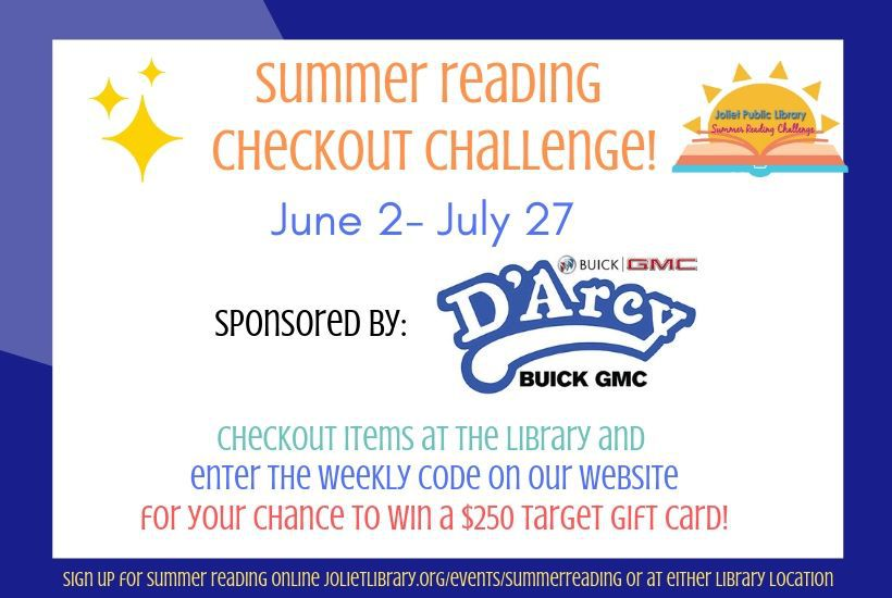 Summer Reading Checkout Challenge